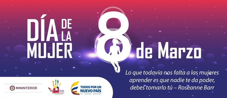dia de la mujer en colombia
