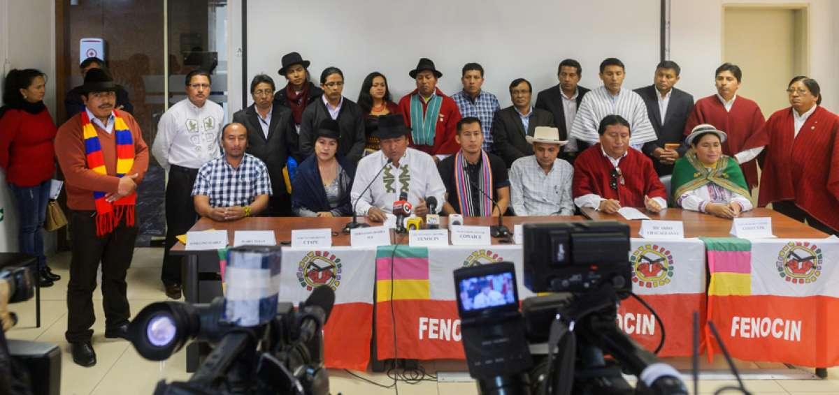organizaciones sociales en Ecuador