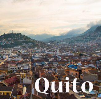Quito: Historia, Fundación, Ubicación, Fiestas y más