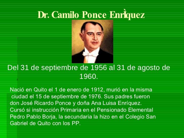 Camilo Ponce Enrriquez