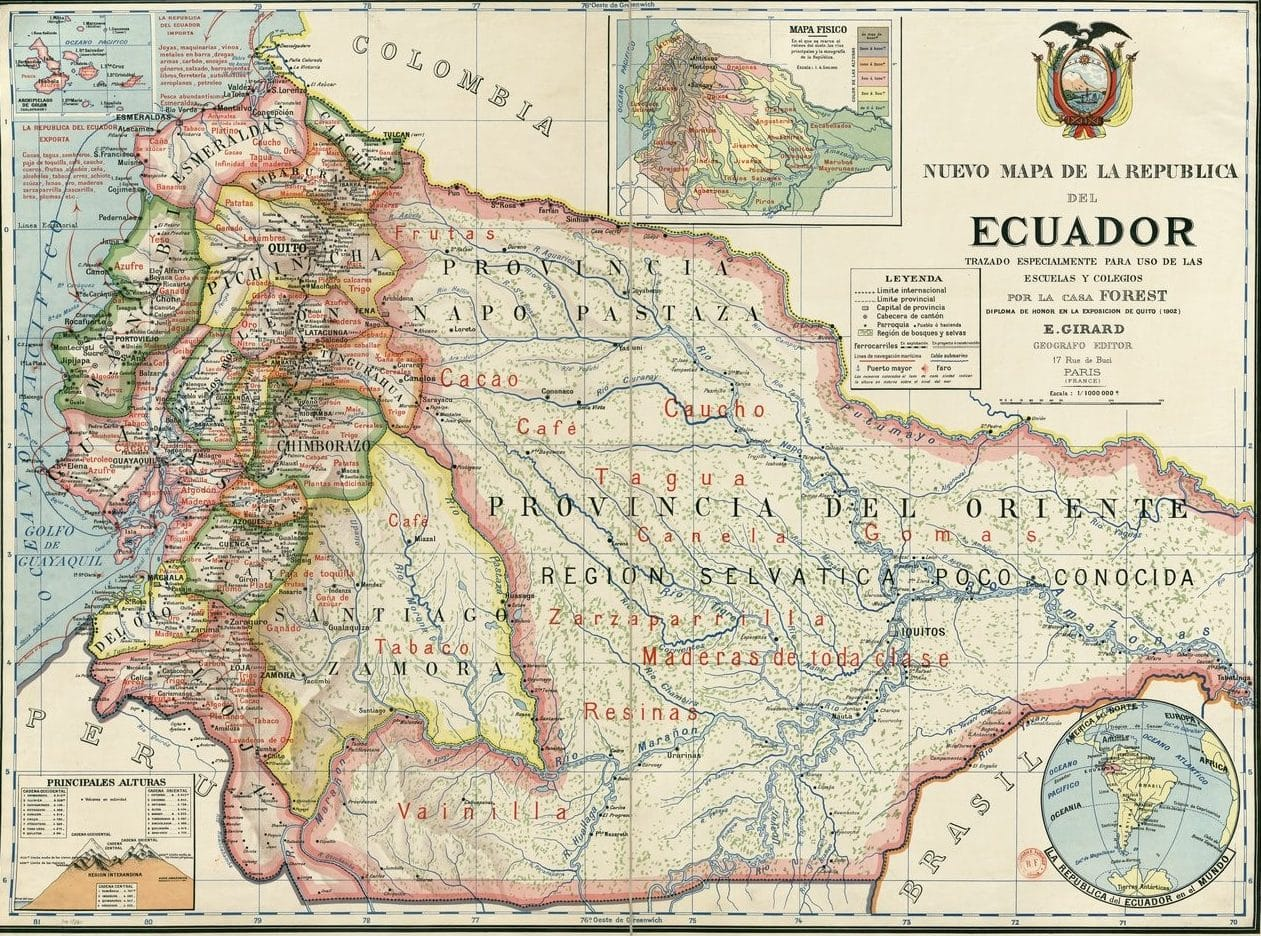 nacimiento de la republica del ecuador
