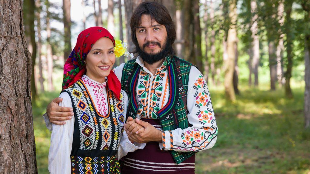 Vestimenta de la cultura de Bulgaria